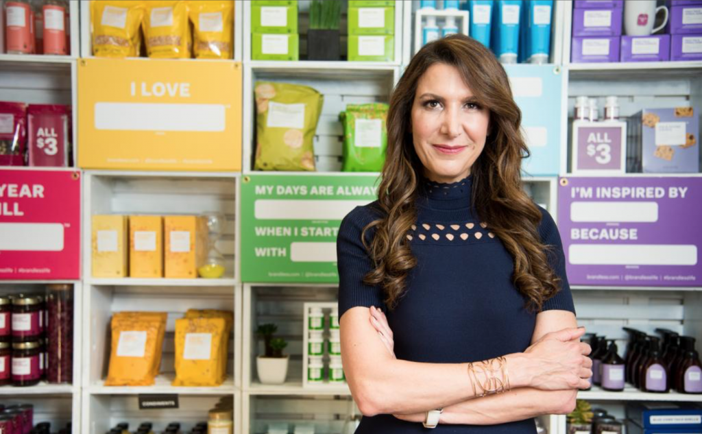 Ollari features image of Tine Sharkey as one of the most inspiring female entrepreneurs